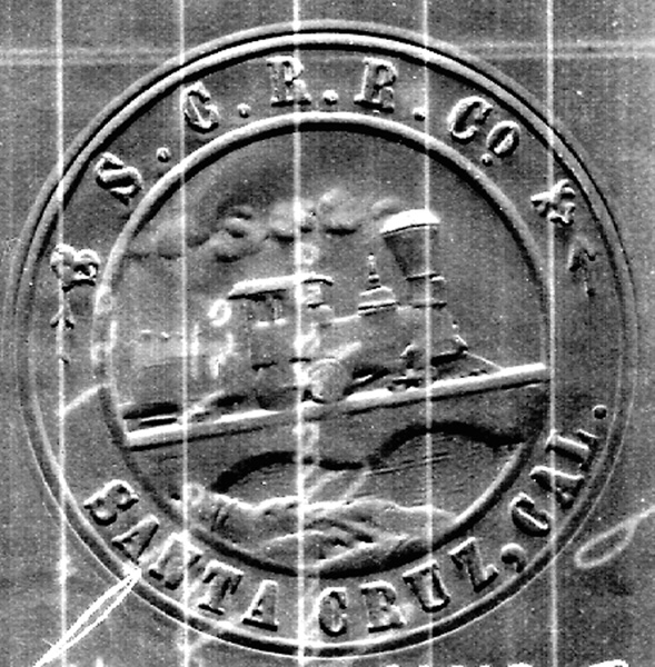 Santa Cruz Railroad Logo