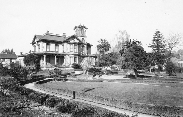 Frederick A. Hihn Mansion and Gardens, Santa Cruz, California, n.d.