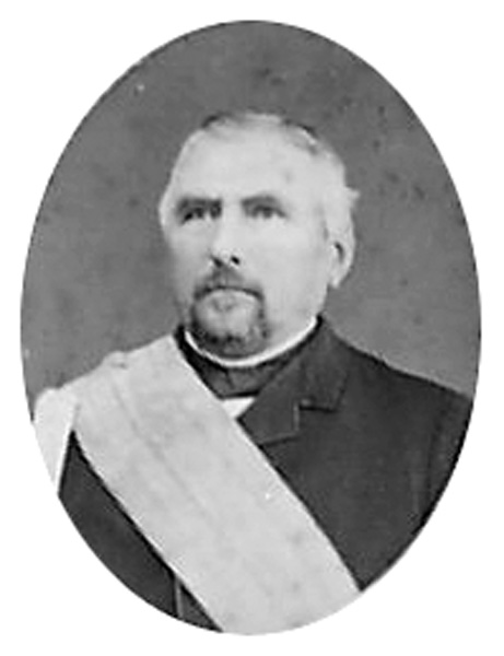 Frederick A. Hihn with the Society of California Pioneers Sash, n.d.