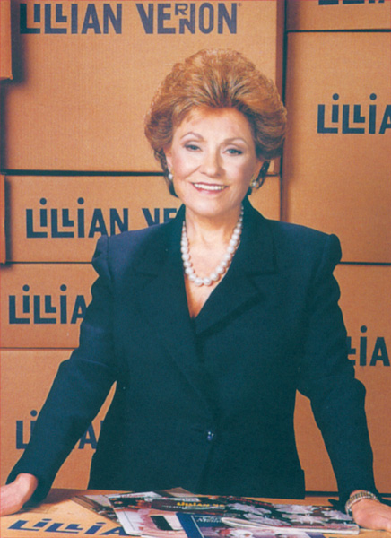 Lillian Vernon as CEO of a Multi-Million-Dollar Company