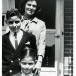 Lillian Hochberg with her Sons