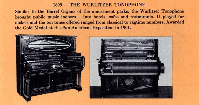 Wurlitzer Tonophone