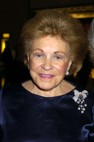 Lillian Vernon at the Lincoln Center for the Performing Arts Spring Gala