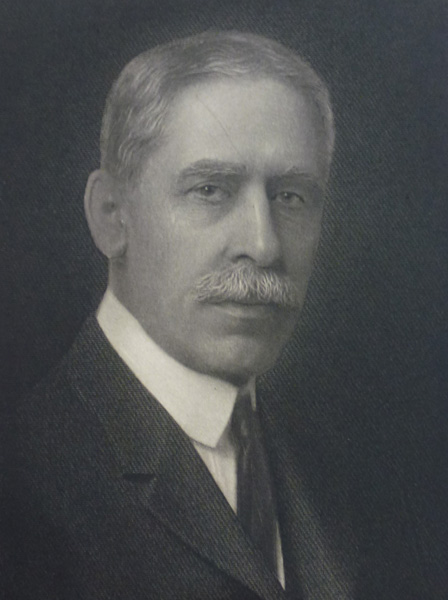 Joseph Schaffner, undated portrait