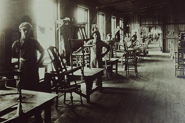 S. Karpen & Bros. Factory in Michigan City, Indiana, 1916