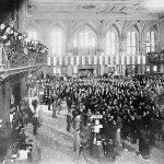 Trading Floor of the New York Stock Exchange, 1889