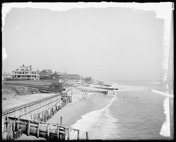 Beach at Elberon, New Jersey, c. 1900