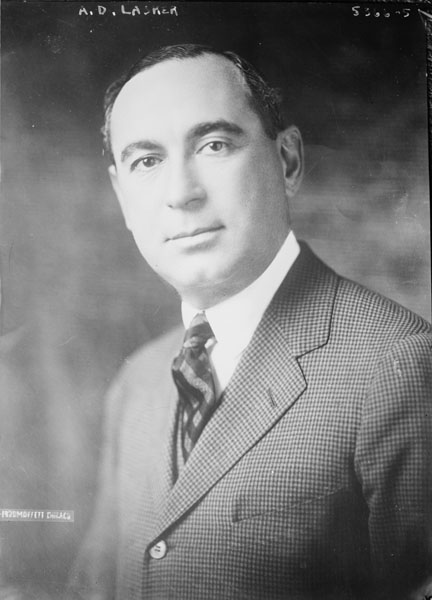 Albert Lasker Portrait