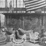 Karpen furniture on exhibit at the World's Fair in Chicago in 1893