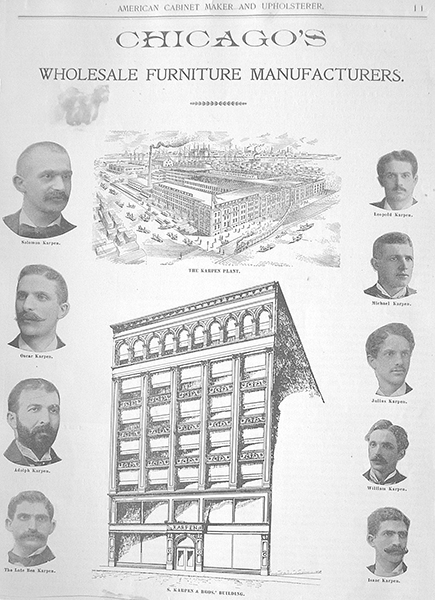 The Nine Karpen Brothers and the S. Karpen & Bros. Building