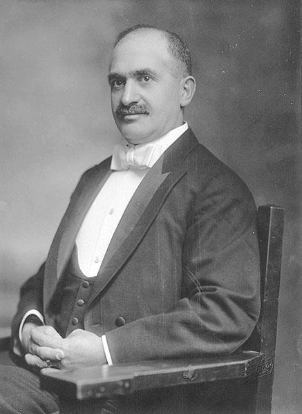 Portrait of Solomon Karpen, 1916