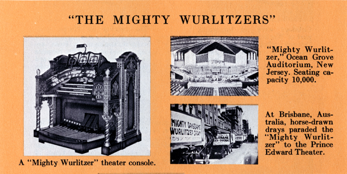 The Mighty Wurlitzers