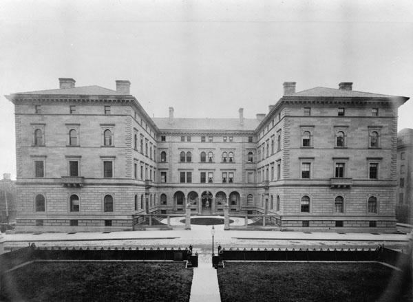 Henry Villard Villa, West Façade, ca. 1890