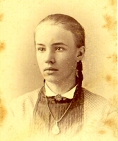Mary Hegeler, c. 1876
