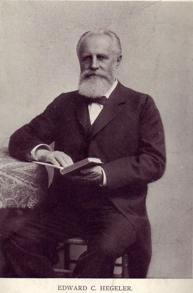 Edward Hegeler, c. 1900