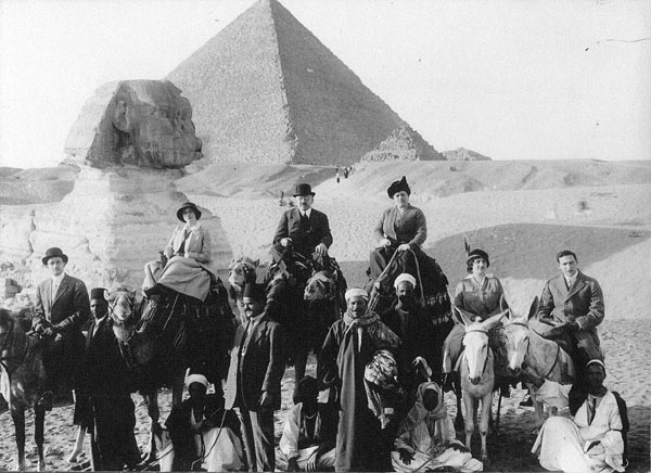 Julius Rosenwald Visiting Egypt with his Family, 1914
