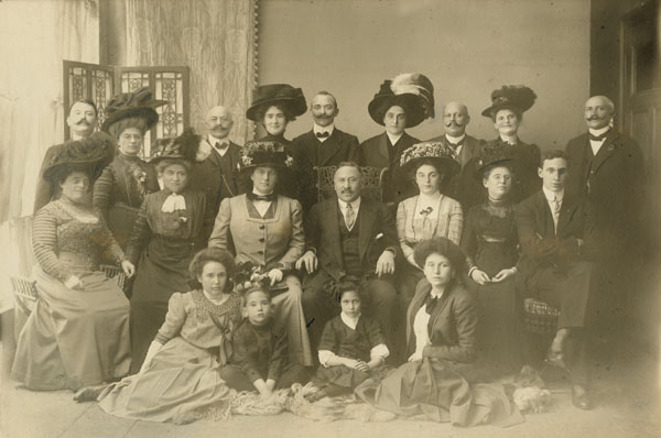 Julius Rosenwald with his Family during a Trip to Germany, 1908