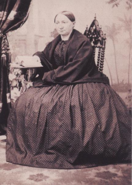 Johanna Herting, first wife of John Augustus Roebling, n.d.