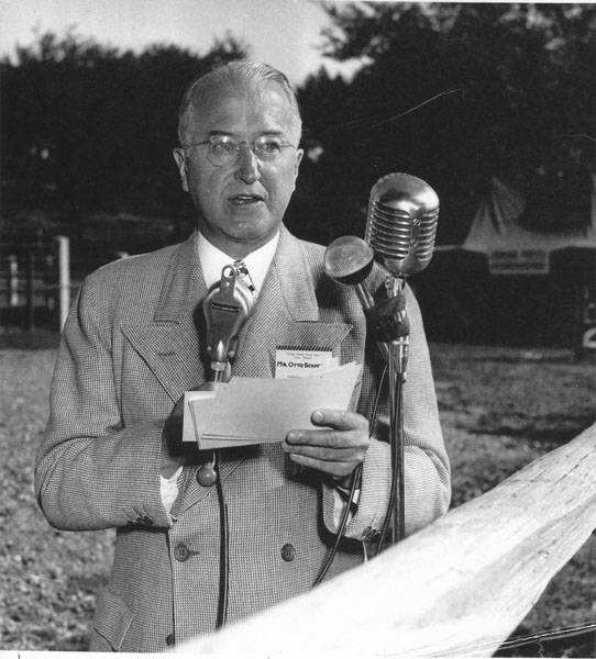 Otto Schnering in the late 1940s or early 1950s