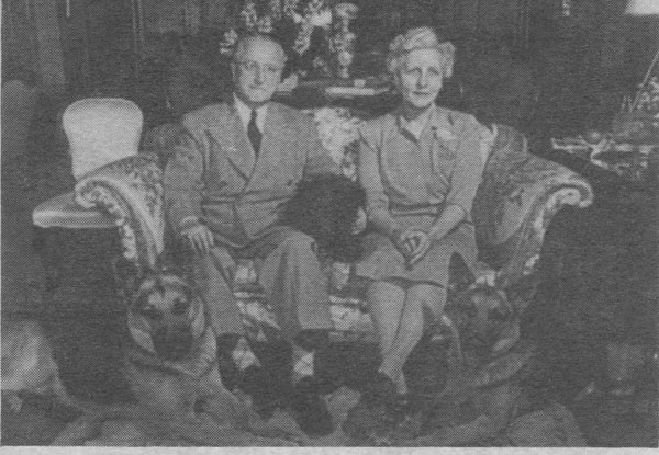 Otto Schnering and Dorothy Schnering, early 1950s