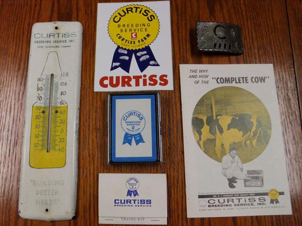 Curtiss Company Memorabilia, varied dates