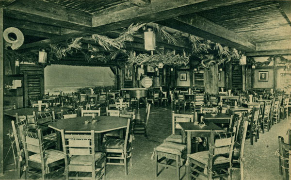 Postcard of the American-themed Wild West Bar at Haus Vaterland, Potsdamer Platz, Berlin