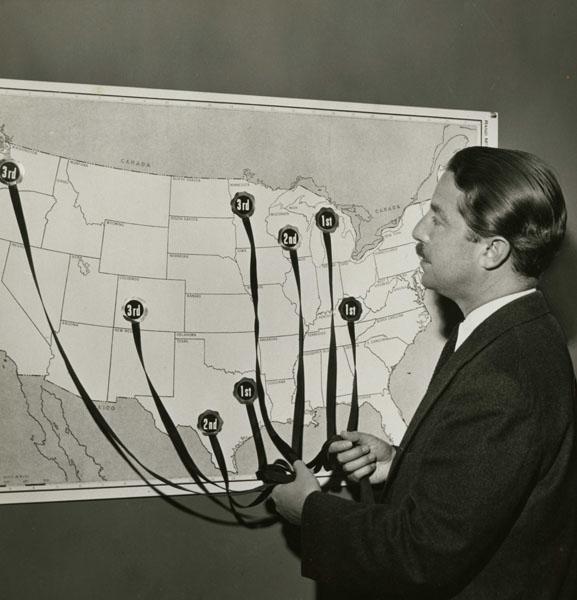 Map of Landor's Awards