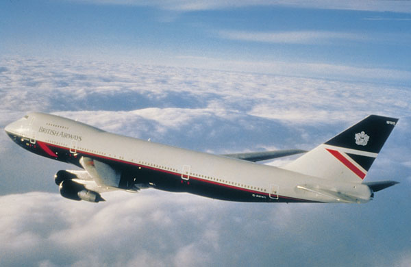British Airways 747 Corporate Design by Landor & Associates