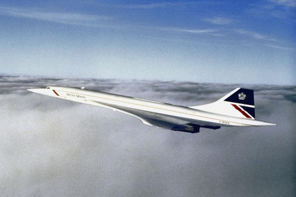 British Airways Concorde Super Sonic Transport (SST) Designed by Landor & Associates