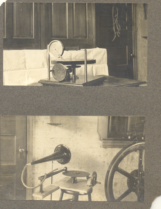 Engraver and Gramophone