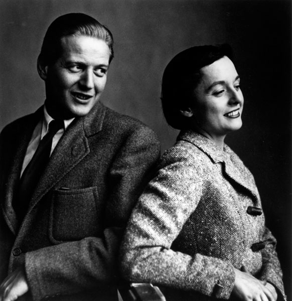 Hans and Florence Knoll, 1946