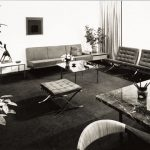 Office of Frank Stanton, President of CBS designed by Knoll, 1952