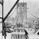Brooklyn Bridge under Construction, c. 1875-78