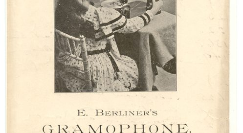 E. Berliner's Gramophone Advertisement