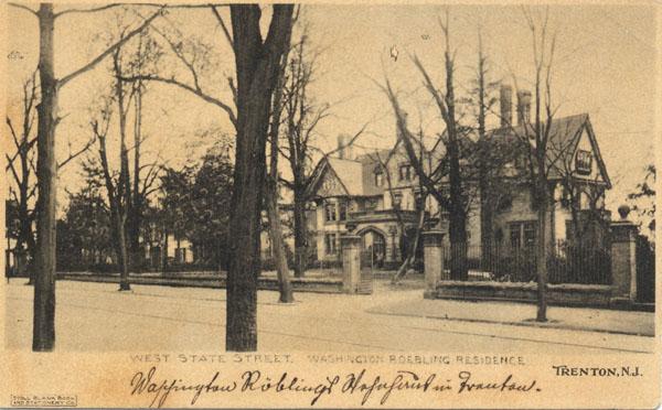Washington and Emily Roebling's Home in Trenton, NJ