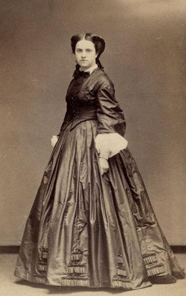 Portrait of Emily Warren Roebling, c. 1864
