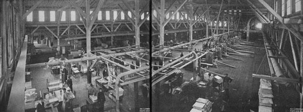 Paepcke-Leicht lumber company: factory floor
