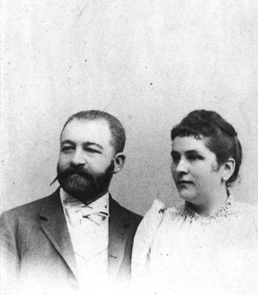 Bernhard and Johanna Beinecke, mid-1880s