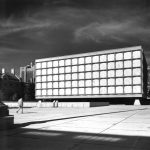 The Beinecke Rare Book & Manuscript Library, Yale University, on its completion in 1963