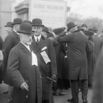 Jacob Schiff at the Liberty Loan Parade, 1917