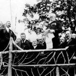 Jacob Schiff and President Theodore Roosevelt