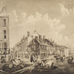 Tontine Coffee House, Wall and Water Streets, ca. 1797