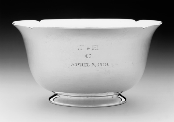 George Christian Gebelein, Silver Bowl, 1918