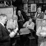 George Christian Gebelein with Craftsmen at his Workshop, 1940