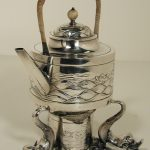 George Christian Gebelein, Silver Tea Kettle, Early 20th Century