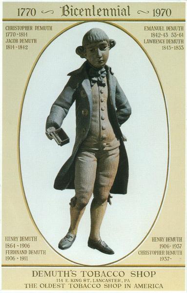 John Demuth, The Snuff Taker of Revolutionary Days, c. 1770