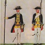 Illustration of Hessian Soldiers, n.d.