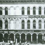 Office for Chas. Fey & Co. on Market Street in San Francisco