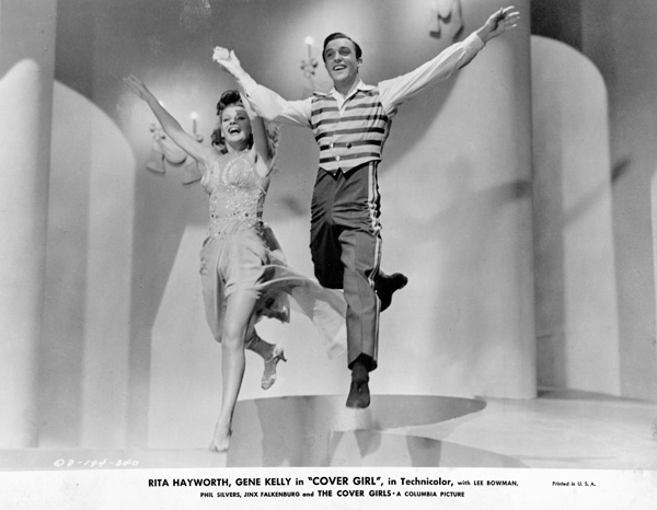 Rita Hayworth and Gene Kelly in Cover Girl, 1944