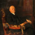 Adolph Lewisohn portrait by British artist Harrington Mann